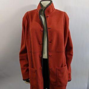Reversible Fleece Coat M